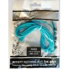 Наушники Nike NK-011 в пакете,Синие (красивый дизайн и на шнуре надпись JUST DO IT)