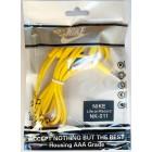Наушники Nike NK-011 в пакете,Желтые (красивый дизайн и на шнуре надпись JUST DO IT)