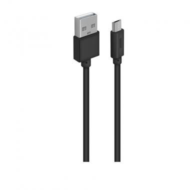 OXION DCC-288 дата-кабель с возможностью зарядки для Samsung USB 2.0 (M) - Micro-USB (M), 1м,черный в опл. оптом
