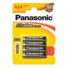 PANASONIC Alkaline LR03 4BP, 4 шт.