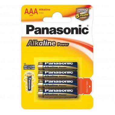 PANASONIC Alkaline LR03 4BP, 4 шт. оптом