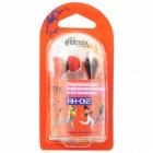 Наушники Ritmix RH-012,красные