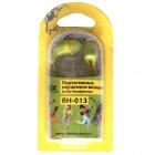 Наушники Ritmix RH-013,зелен/желт