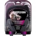 Полноразмерная стерео гарнитура SmartBuy® COMMANDO, рег.громк, кабель 2.5м
