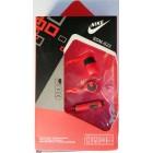 Наушники NIKE SPORT SDM-S23  в упаковке  (с кнопкой ответа) Красные