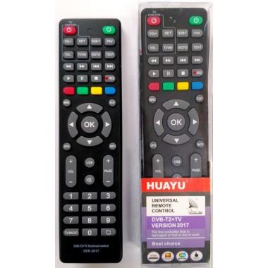 Универсал для всех цифровых приставок DVB-T/DVB-T2+TV(корпкс LUMAX B0302)с фукцией обучения кнопок для TV оптом