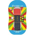 Фонарь Ultraflash LED15001-А (3xR03 светофор, красный с черным, 9 LED, пластик, блистер)