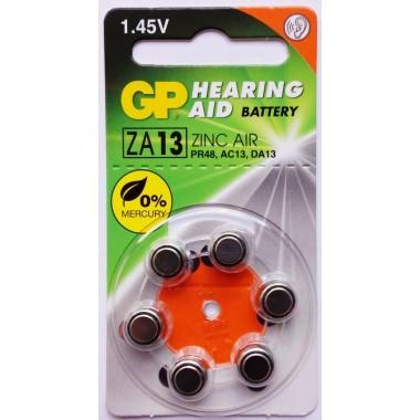 GP ZA13F-D6 (для слуховых аппаратов) оптом