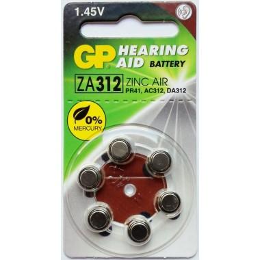GP ZA312F-D6 (для слуховых аппаратов) оптом