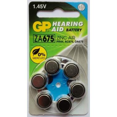 GP ZA675F-D6 (для слуховых аппаратов) оптом